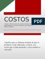 COSTOS, conceptos, ECONOMIA