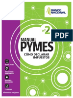 Manual Pyme2 Declarar Impuestos El Financiero