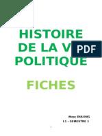 Fiches Histoire de la Vie Politique - L1 Droit