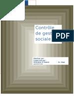 Controle de Gestion Social