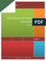 EdExcel IGCSE Chemistry Past Paper Questions 2013