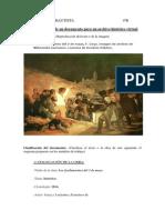Comentario de Arte(Los Fusilamientos Del 3 de Mayo, f.goya)