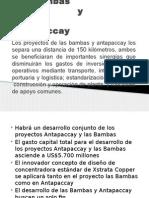Antapaccay y Las Bambas