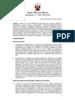 Resolución 0287-2015-JNE