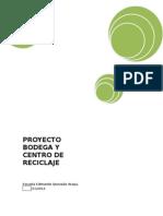 Proyecto Bodega Reciclaje