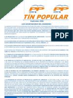 Boletín PP Loeches Septiembre 2008