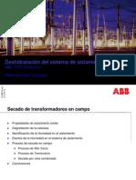 ABB Deshidratacion Del Sistema de Aislamiento Solido