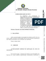 Relatório do projeto de lei antiterrorismo