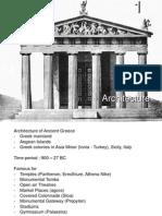1. Greek Architecture