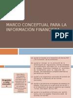 Marco Conceptual Para La Información Financiera