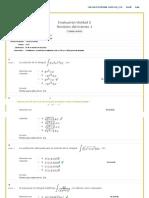 Evaluacion Unidad 2 Calculo Integral Unad