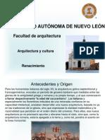 Arquitectura y Cultura Del Renacimiento