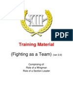 Training Material - Fighting as a Team