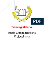 Training Material - Radio Communications