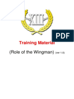 Training Material - Role of a Wingman