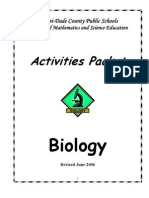 Activities Packets Biology