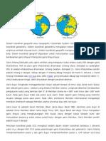 Sistem Koordinat Geografis