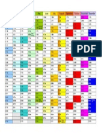 Calendar 2015 Landscape in Colour