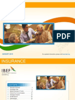 Insurance sector in india August 2015