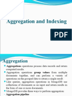 Aggregation Indexing