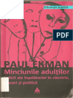 Minciunile Adultilor =Paul Ekman