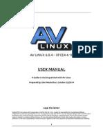 AV Linux 6.04 Manual
