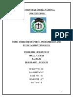 Law and Media Final Draft Palash