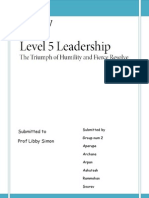 Level 5 Management Book Review