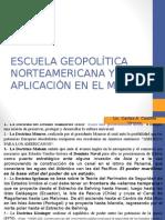 Escuelas Geopolíticas Norteamericanas