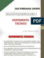 Expediente Tecnico - UPEU