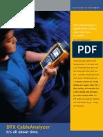 certificador UTP DTX