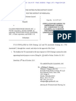 COR Clearing, LLC v. Calissio Resources Group, Inc. et al  Doc 37 filed 28 Jan 15.pdf