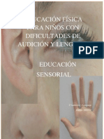 educación sensorial