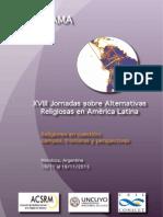 Programa Parcial - Jornadas ACSRM 2015