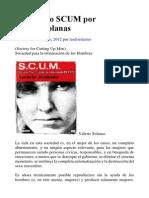 Valerie Solanas. Manifiesto SCUM
