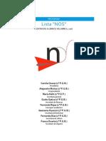 Programa #Lista_NOS