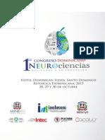 Programa Congreso Neurociencias Rep Dom