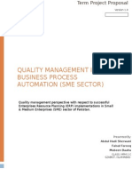 Project Quality Management Overview for SME