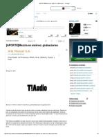 [APORTE]Mezcla en Estéreo_ Grabaciones - Taringa!
