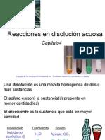 4. Reacciones de Una Disolución Acuosa. Raymond Chang