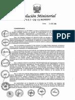 RM N° 457-2015-MINEDU - Creación Grupo de Trabajo Gobieno Abierto