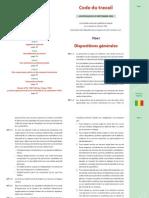 Code Du Travail - Mali