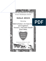 Gala 2015 Tribute Book