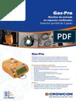 Detector Multigases Crowcon Modelo Gas Pro Yareth Quimicos Ltda