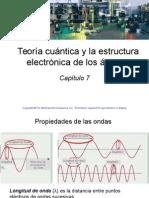 7. Teoría Cuántica y La Estructura Electrónica de Átomos.  Raymond Chang