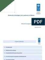 3. Reducción Estratégica de La Pobreza en México
