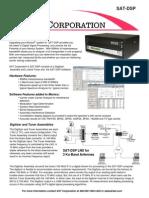 SAT Corp SAT-DSP Brochure
