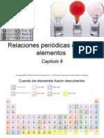 8. Relaciones Periódicas Entre Los Elementos. Raymond Chang