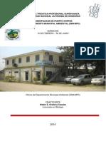 Informe Pps Municipalidad de Puerto Cortes