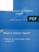 Introduction to Holistic Principles